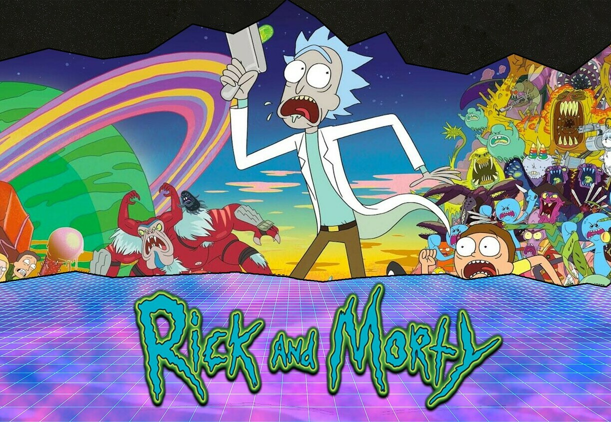 "<span style=""font-weight: bold;"">Rick and Morty</span><br>"